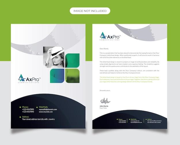 Design di carta intestata aziendale