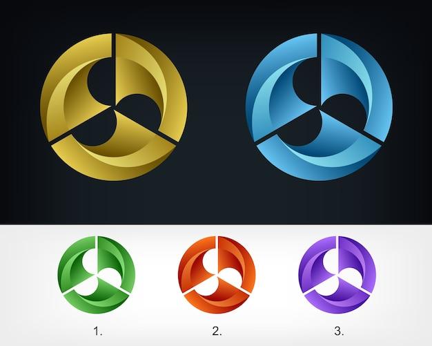 Modello di progettazione icona logo aziendale