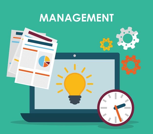 Grafica di gestione aziendale