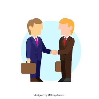Trattativa di affari