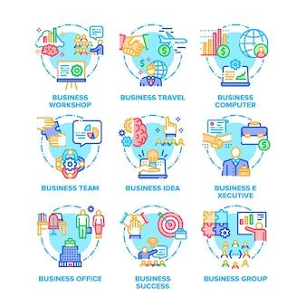 Set di occupazione aziendale