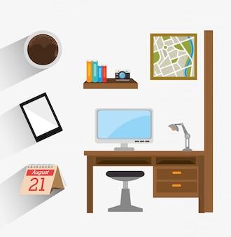 Ufficio affari e umano