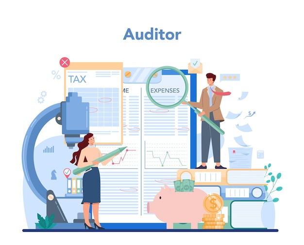 Illustrazione di ricerca e analisi delle operazioni aziendali