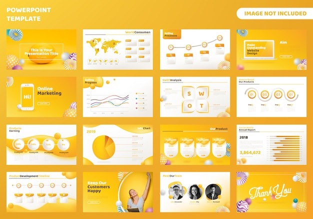 Modello di presentazione di powerpoint aziendale