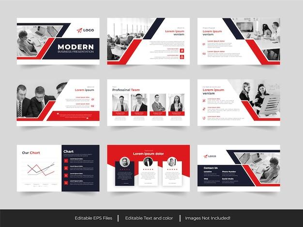 Presentazione aziendale o modello di business classico