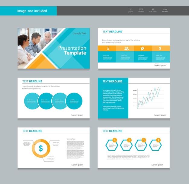 Modello di progettazione di presentazione aziendale