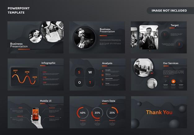 Modello di presentazione aziendale