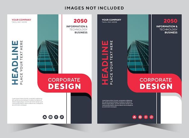 Copertina di cancelleria aziendale per libri aziendali