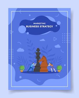 Illustrazione di strategia aziendale