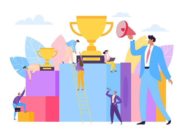 Raggiungimento del successo aziendale