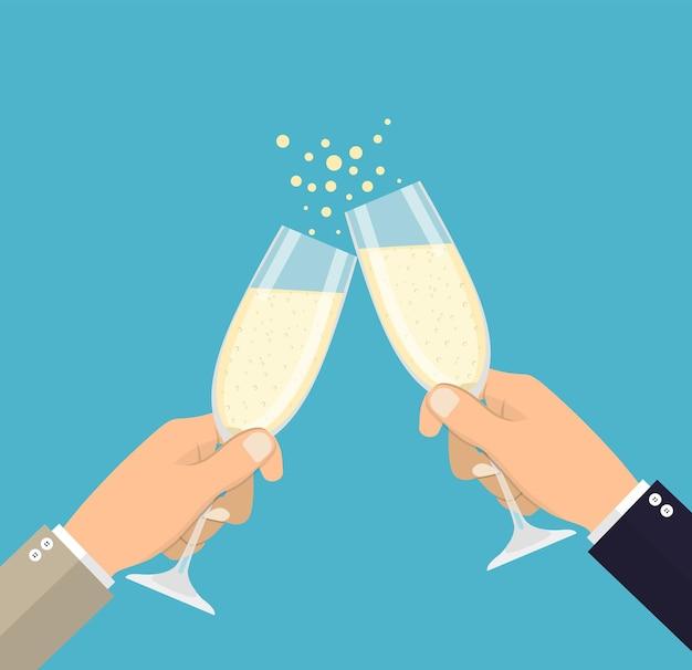 Celebrazione del successo aziendale.