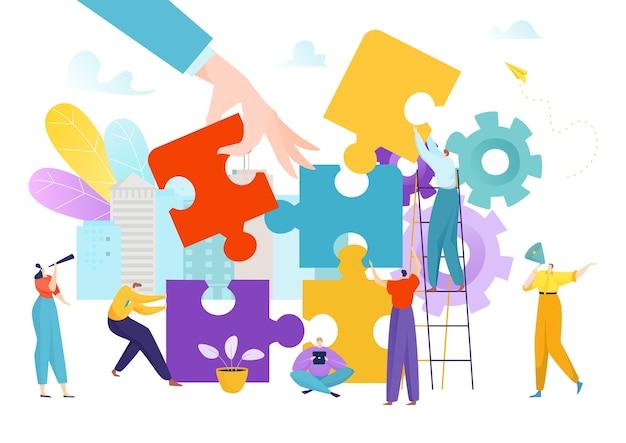 Progettazione del lavoro di squadra di affari