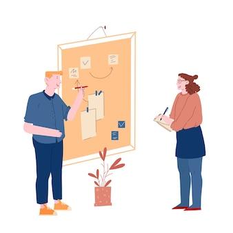 Business team lavorando insieme pianificazione