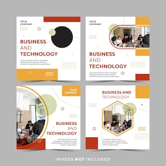 Post instagram business e tecnologia
