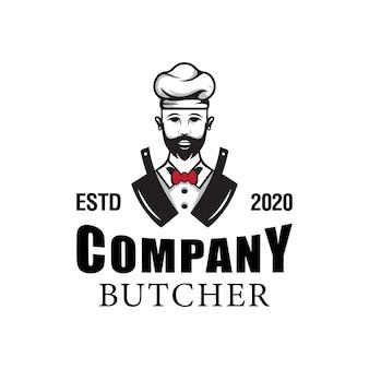 Logo del negozio di macelleria