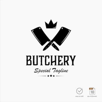 Design del logo di macelleria