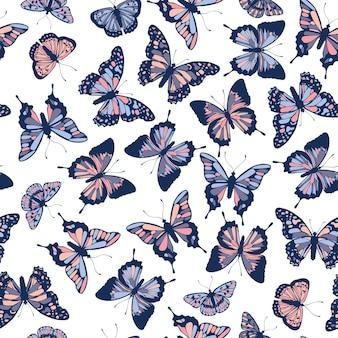 Modello di farfalle.