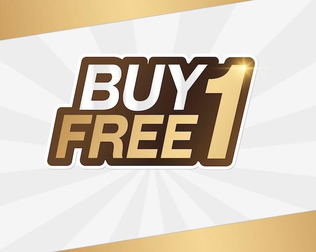Paghi uno prendi uno banner di vendita gratuito