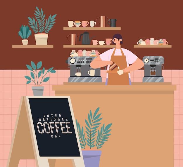 Design del negozio di caffè
