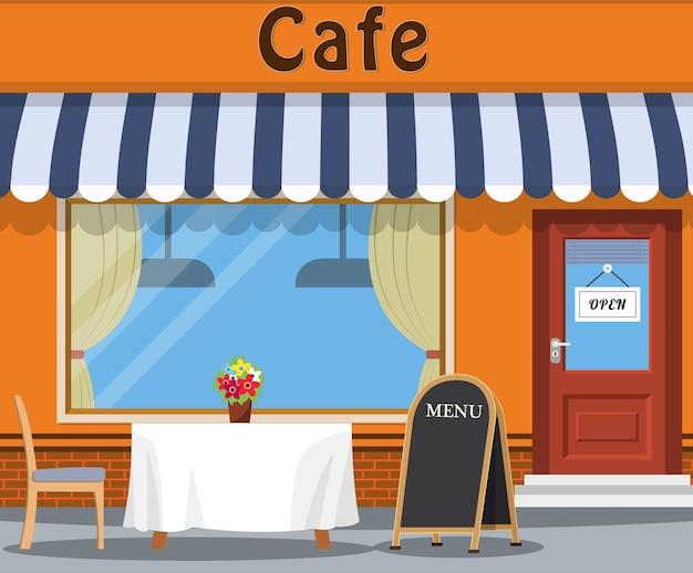 Il caffè e la tavola