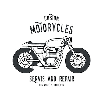 T-shirt caferacer