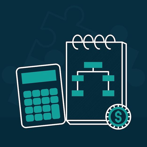 Calcolatrice e blocco note