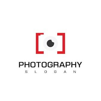 Fotocamera per il logo della fotografia