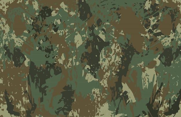 Camouflage schizzi di sfondo