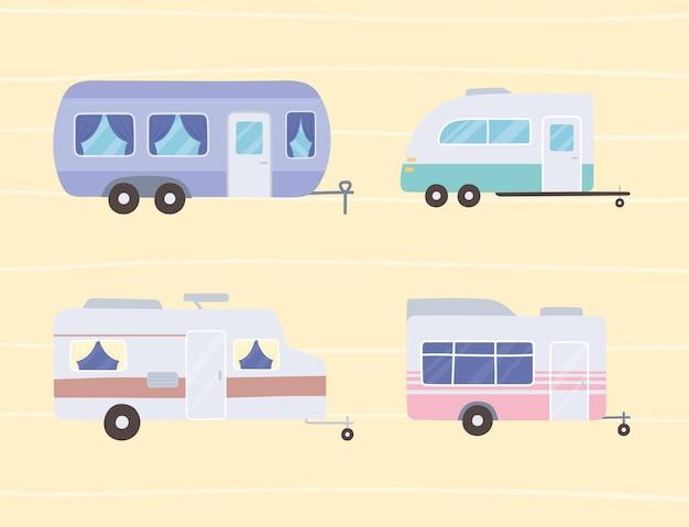 Trasporto camper rimorchi