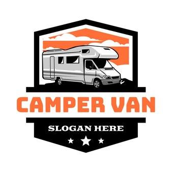 Logo del veicolo camper