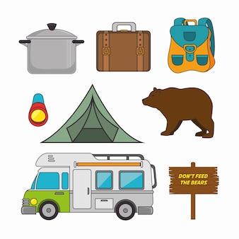 Vacanze in campeggio e viaggi