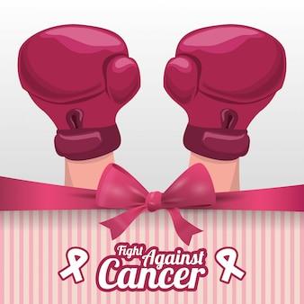 Illustrazione di progettazione del cancro
