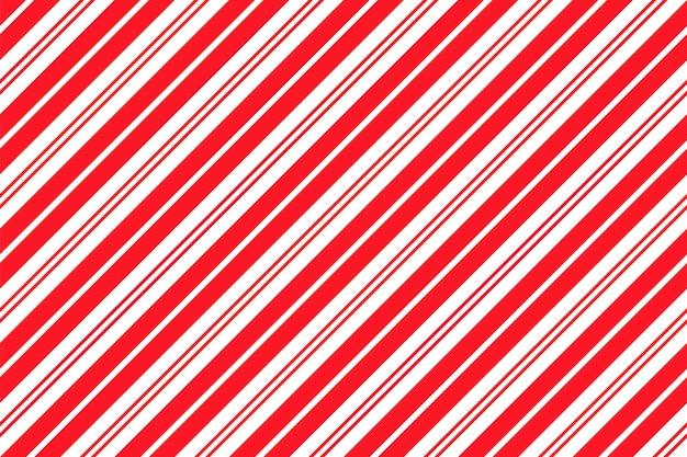 Motivo a strisce di bastoncini di zucchero. stampa di natale senza soluzione di continuità. illustrazione vettoriale.
