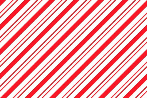 Motivo a strisce di bastoncini di zucchero. stampa senza soluzione di continuità. illustrazione vettoriale.