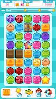 Candy match three