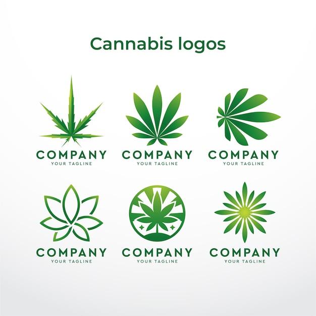 Logo di cannabis