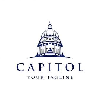 Ispirazione del design del logo capitol dome