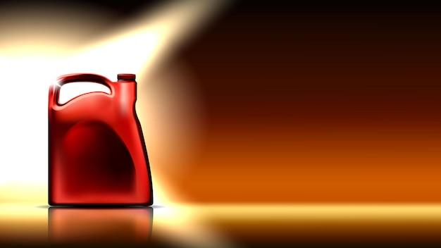 Spazio della copia del contenitore di lubrificazione del motore dell'automobile vector