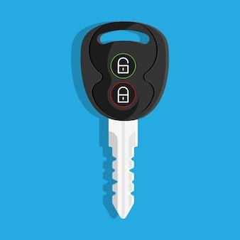 Chiave dell'auto serratura sblocca allarme porte