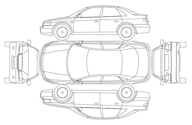 Assicurazione di tiraggio della linea dell'auto, danni da noleggio, modulo di rapporto sulle condizioni