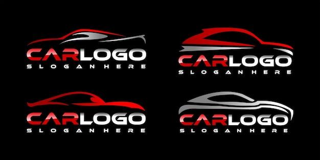 Collezione logo auto