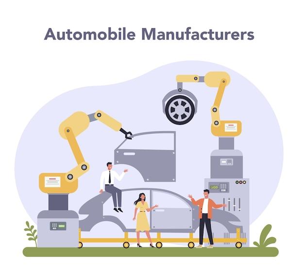 Industria della produzione automobilistica