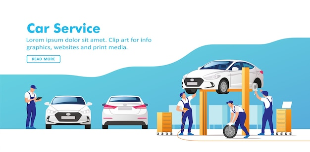 Servizio e riparazione auto