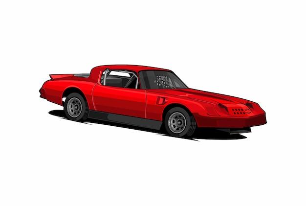 Illustrazione dello sport automobilistico