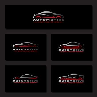Autolavaggio logo auto automobiler auto da corsa design automobilistico