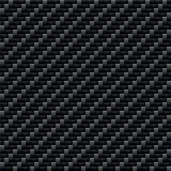 Modello in carbonio kevlar nero