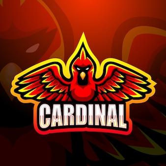 Illustrazione della mascotte cardinale