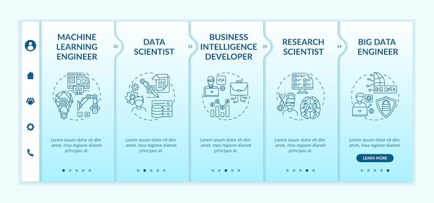 Carriere in ai on boarding template. sviluppatore di software di business intelligence.