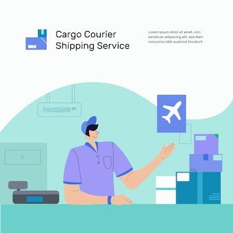 Servizio clienti consegna merci
