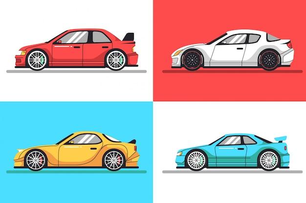 Collezione di automobili
